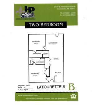 Latourette Floor Plan