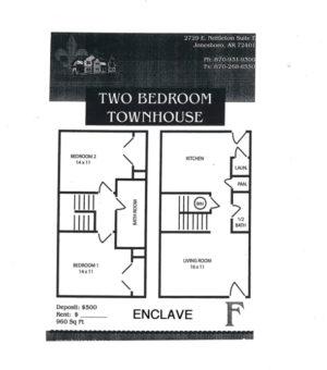 Enclave Floor Plan