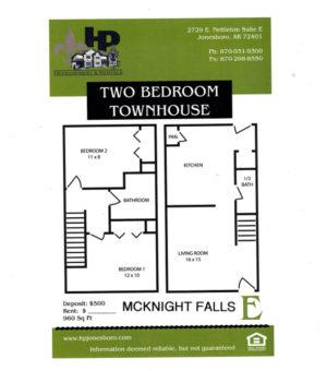 McKnight Falls Floor Plan