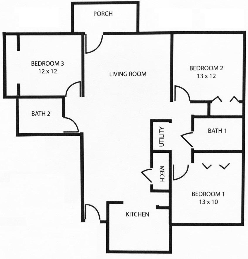 SH 3 bedroom Single-Level